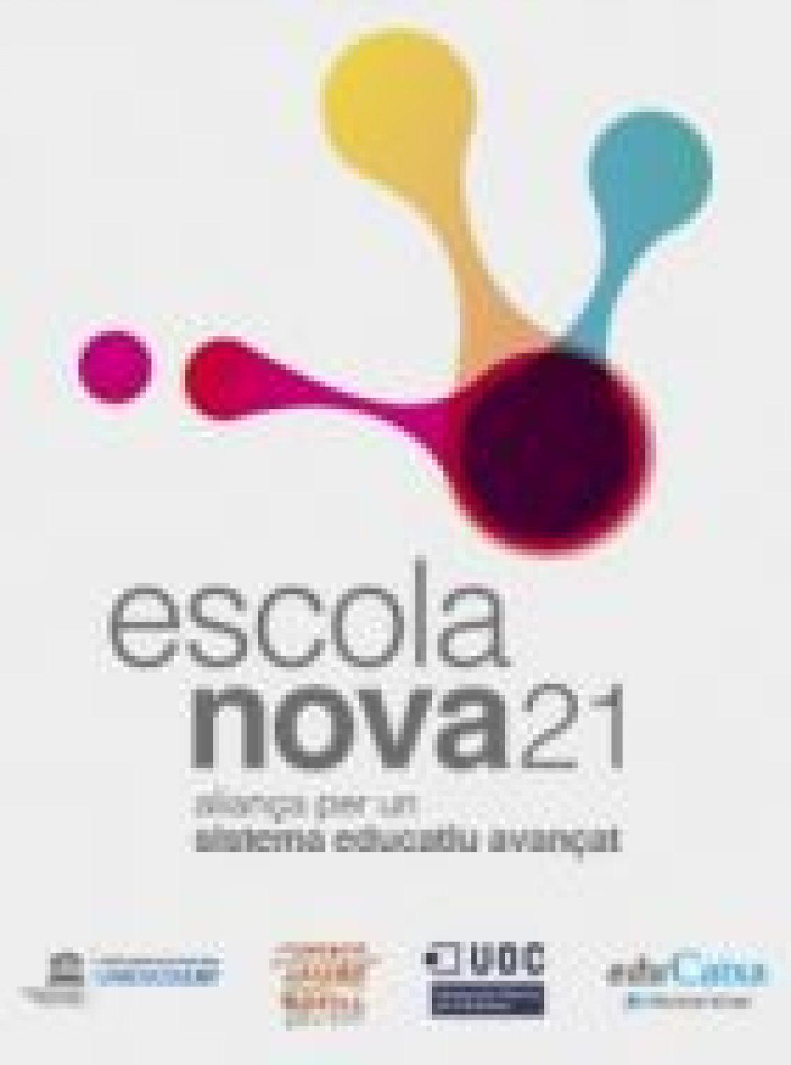L'ESCOLA L'AVET HA ENTRAT A FORMAR PART DEL PROGRAMA ESCOLA NOVA 21