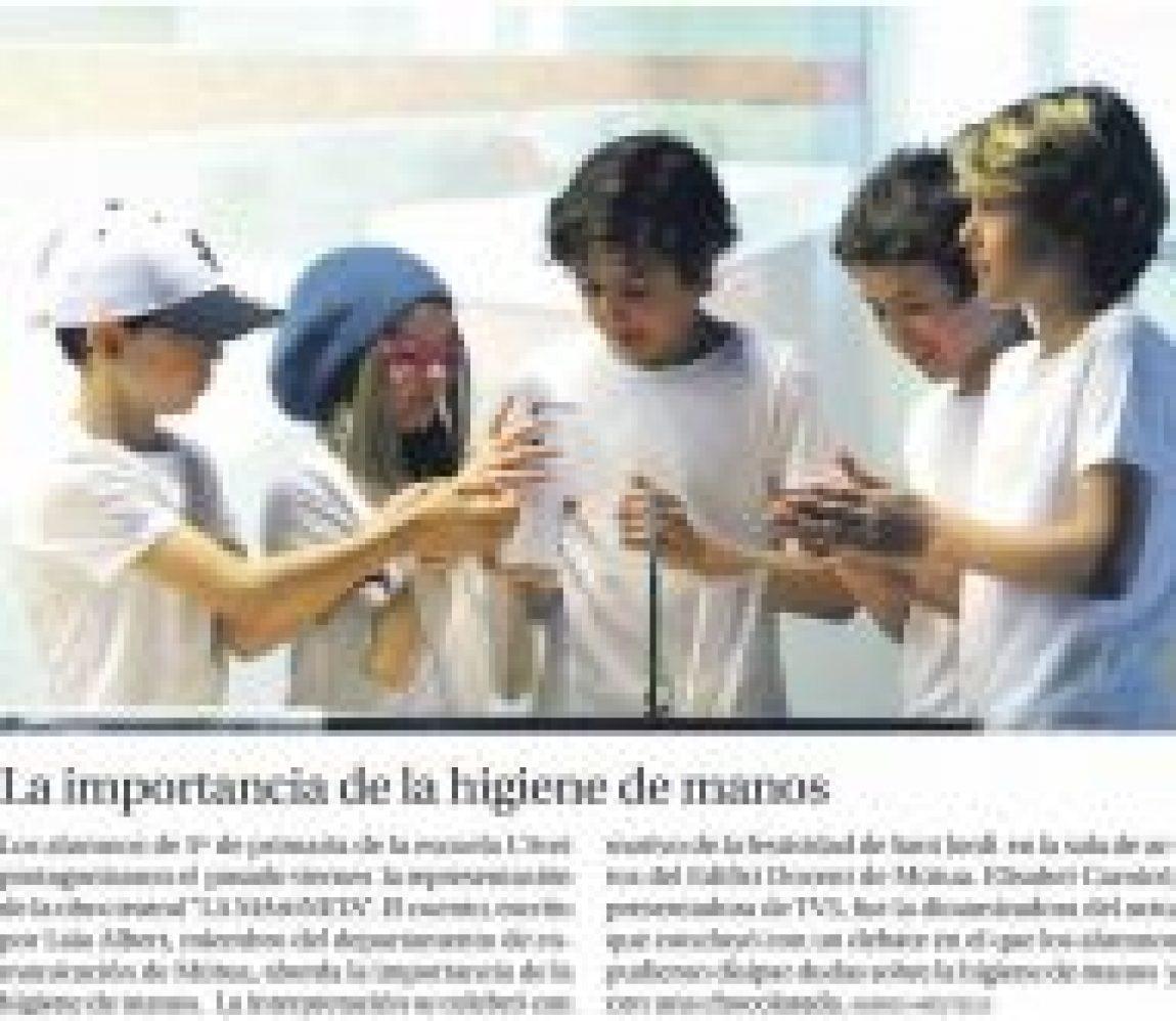 Diari de Terrassa ha publicat una notícia sobre la funció de La MArtiNETA que va representar la classe de 5è divendres passat a Mútua