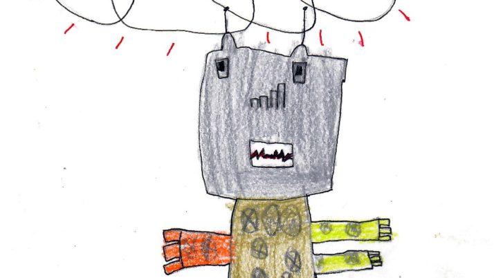 """Com ens agrada  construir robots!"""