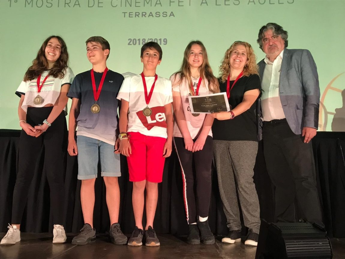 Projecte de curtmetratges a 6è amb premi!