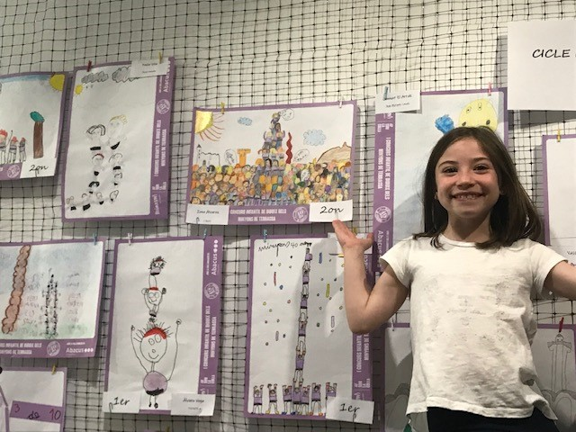 Concurs de dibuixos de minyons